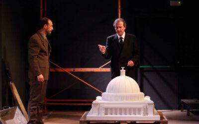 Pep Munné és Albert Speer al teatre La Gleva