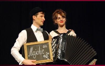 Singular espectacle de música teatralitzada 'Olivia & Olivier', a l'Almeria Teatre