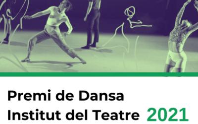 Nova convocatòria del Premi de Dansa de l'Institut del Teatre 2021