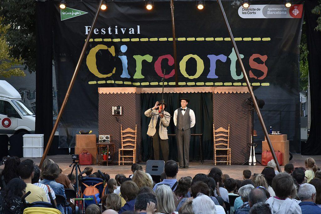 El Circorts és un festival de circ, organitzat pel districte de les Corts que se celebra a diversos espais del barri, tancats i oberts.