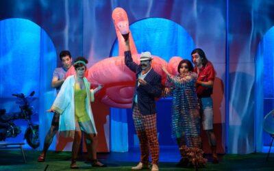 Una divertidíssima L'occasione fa il ladro al Teatre Romea.