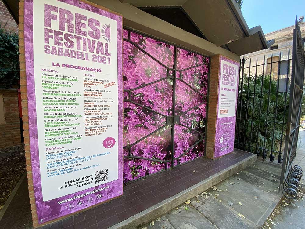 El Fresc Festival de Sabadell arranca el 27 de juny