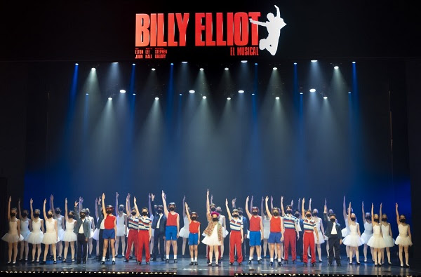 El musical Billy Elliot està protagonitzat per mes de 60 nens i nenes