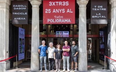 La productora 3XTRES, a punt de fer 25 anys, creix!  I ens ha presentat la Temporada 2021/22 del Teatre Poliorama