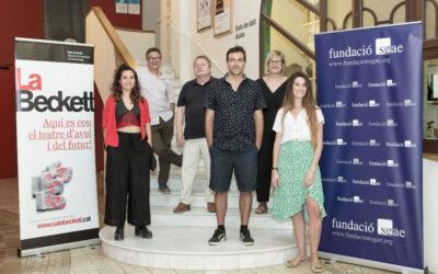 Alejo Levis, Eu Manzanares i Maria Ramírez, seleccionats per a rebre un ajut a l'autoria dramàtica de la Beckett i la Fundació SGAE