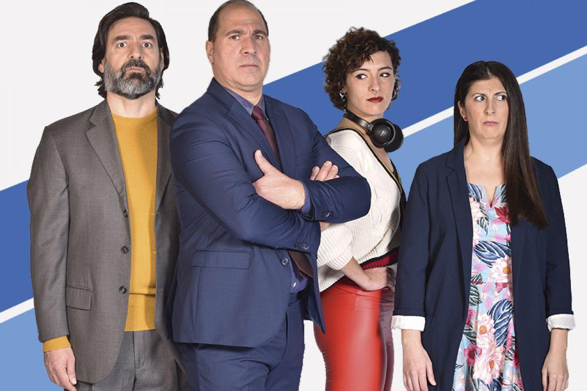 'Angle mort' és una producció d'Apunta Teatre, escrita per Roc Esquius i Sergi Belbel