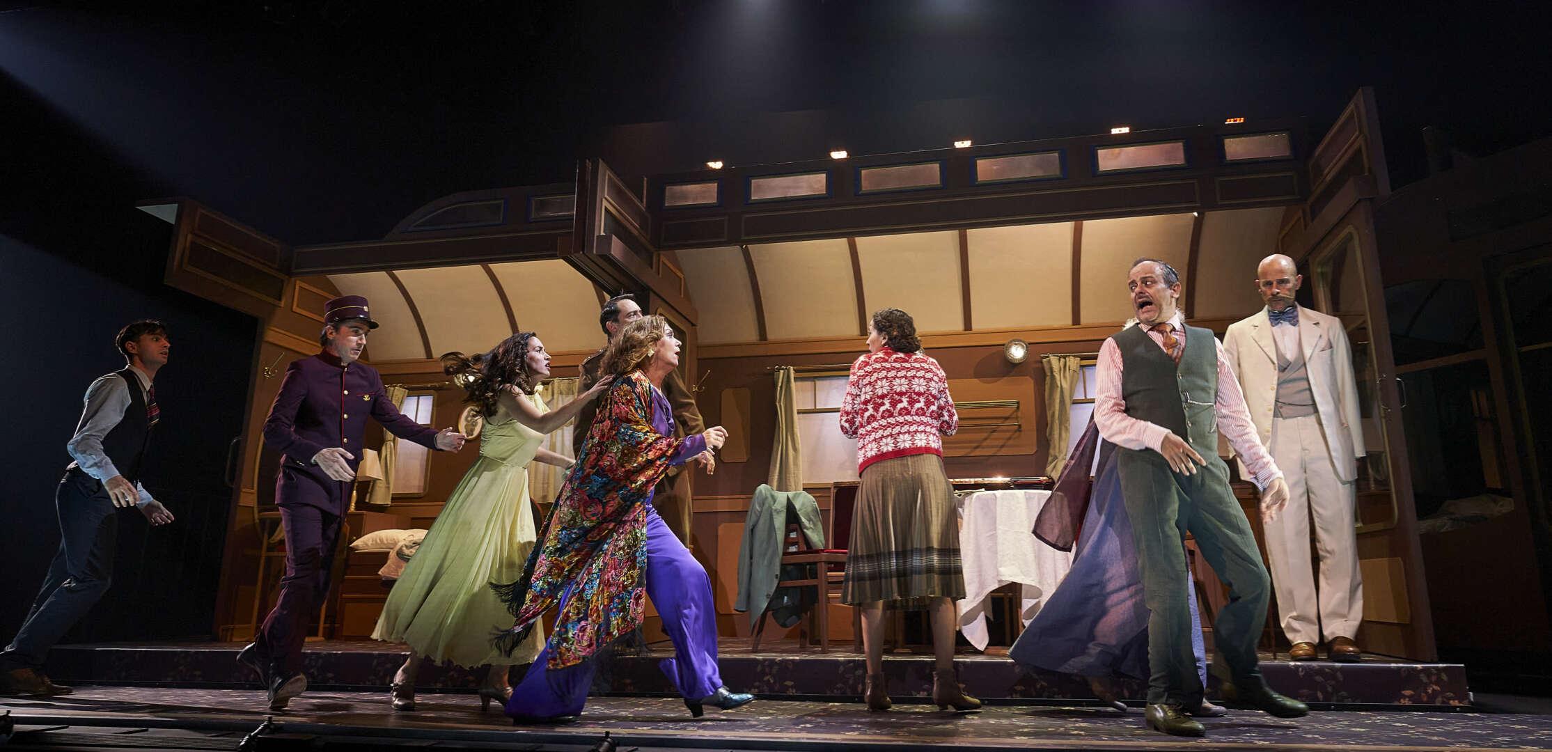 Assassinat a l'Orient Express, Focus, escena, actors