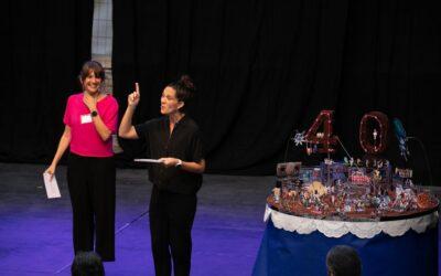 FiraTàrrega s'inaugura amb un pastís de 40 espelmes per celebrar la 40a edició