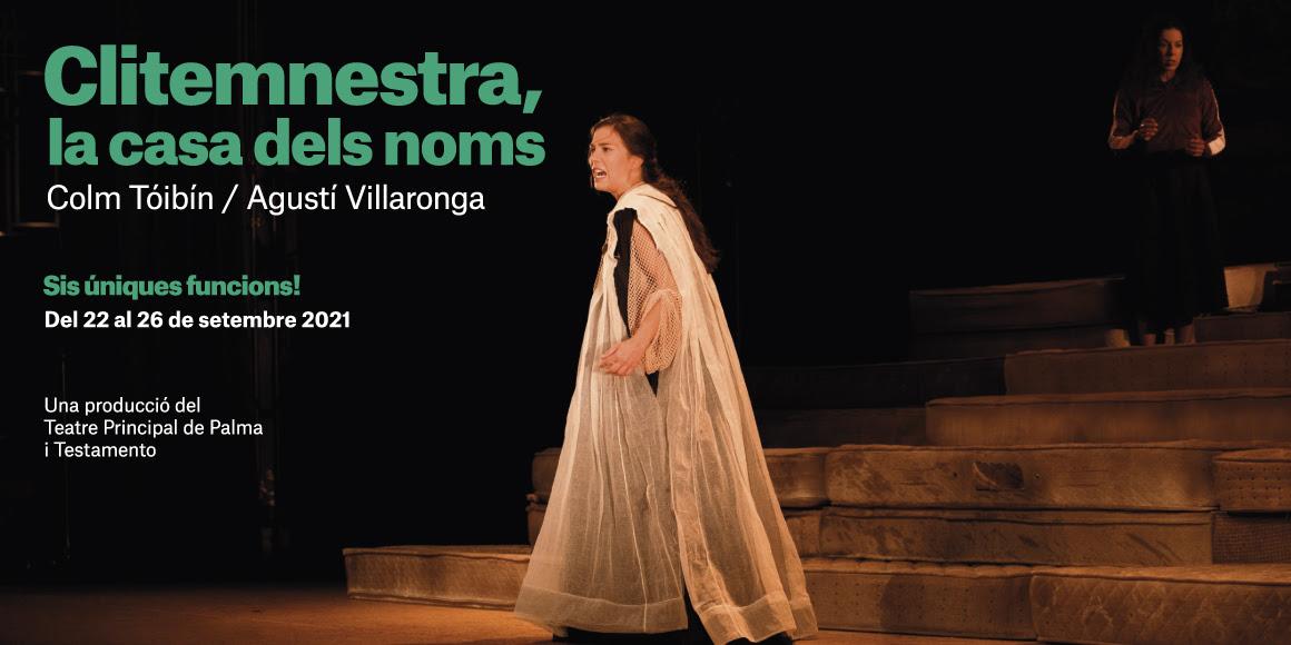 Clitemnestra arriba al Teatre Romea
