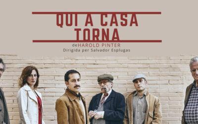 Torna  al Teatre Gaudí el Harold Pinter més controvertit amb 'Qui a casa torna'