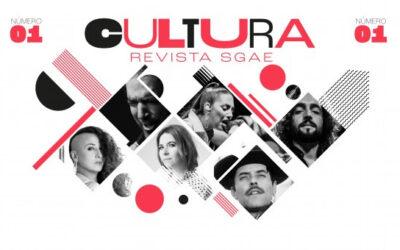 Neix 'Cultura Revista Sgae', una publicació digital de tendències musicals, audiovisuals i escèniques